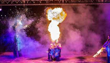 5918 Light Fire Show