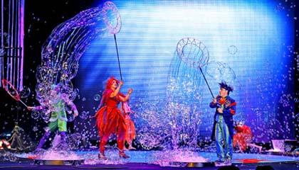 2796 Bubble Blower Show